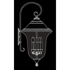 Carcassonne 5 Light Outdoor Wall Lantern