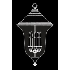 Carcassonne 5 Light Outdoor Post Lantern