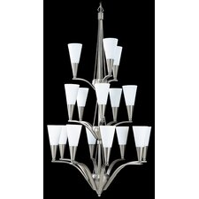 Syzygy 16 Light Foyer Chandelier