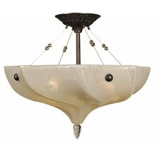 Giselle 3 Light Semi Flush Mount
