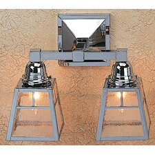 <strong>Arroyo Craftsman</strong> A-Line 2 Light Vanity Light