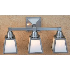 <strong>Arroyo Craftsman</strong> A-Line 3 Light Vanity Light