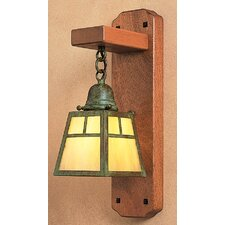 <strong>Arroyo Craftsman</strong> A-Line 1 Light Wall Sconce