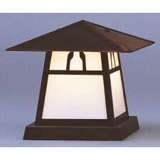 "Carmel 1 Light 8"" Outdoor Post Lantern"