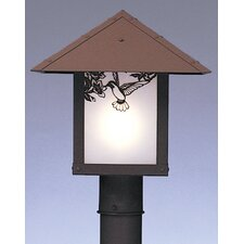 "Evergreen 1 Light 12"" Outdoor Post Lantern"