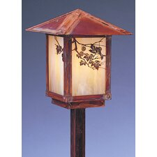 "<strong>Arroyo Craftsman</strong> Evergreen 1 Light 19.5"" Outdoor Post Lantern"