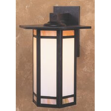 <strong>Arroyo Craftsman</strong> Etoile 1 Light Outdoor Wall Lantern