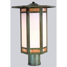 Etoile 1 Light Post Lantern