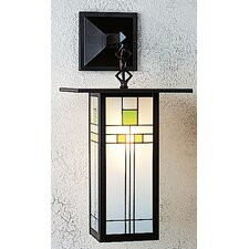 <strong>Arroyo Craftsman</strong> Franklin Long Body 1 Light Outdoor Wall Lantern