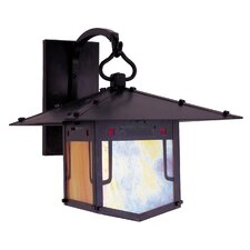 <strong>Arroyo Craftsman</strong> Pagoda 1 Light Outdoor Wall Lantern
