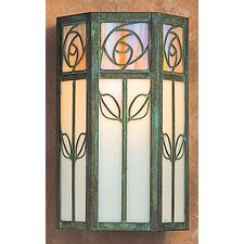 <strong>Arroyo Craftsman</strong> Saint Clair 1 Light Outdoor Wall Sconce
