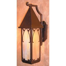 <strong>Arroyo Craftsman</strong> Saint George 1 Light Outdoor Wall Lantern
