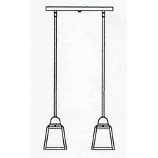 <strong>Arroyo Craftsman</strong> A-Line 2 Light Pendant