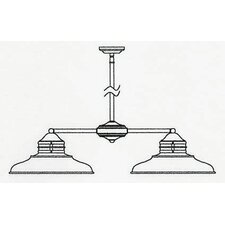 Newport 1 Light Outdoor Chandelier