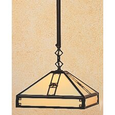 <strong>Arroyo Craftsman</strong> Pasadena 1 Light Foyer Pendant