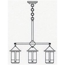 <strong>Arroyo Craftsman</strong> Berkeley 4 Light Chandelier