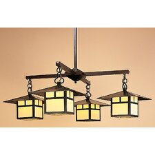 <strong>Arroyo Craftsman</strong> Monterey 5 Light Chandelier with Filigree