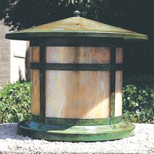 <strong>Arroyo Craftsman</strong> Berkeley 1 Light Column Post Lantern