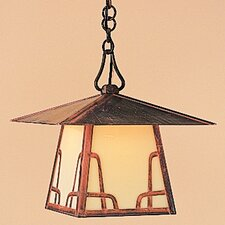 <strong>Arroyo Craftsman</strong> Carmel 1 Light Outdoor Hanging Lantern