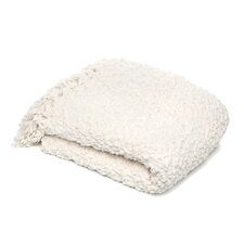 Betsy Woven Polyester Throw in Cream
