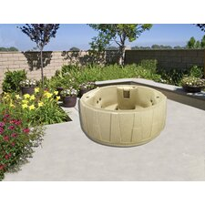 <strong>Atlantic Outdoor</strong> Atlantic Outdoor WF200-GG-S Standard Spa Silver
