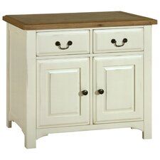 Savannah Small Sideboard in Painted Ivory
