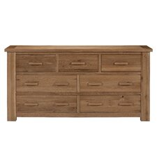 Sasso 3 Over 4 Drawer Multi Chest
