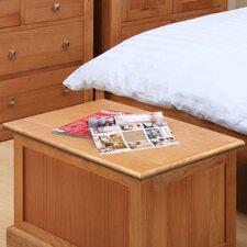 Pitkin Oak Blanket Box