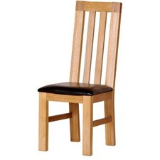 Chunky Oak Dining Chair (Set of 2)