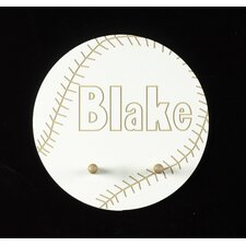 Personalized Baseball Wall Plaque