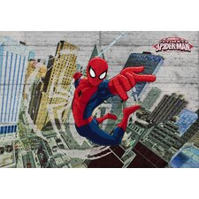 "Fototapete ""Spider-Man Concrete"" - 254 x 368 cm"