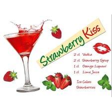 Dekosticker Strawberry Kiss