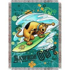 Entertainment Tapestry Throw Blanket - Scooby Doo - Dawgin Out