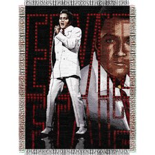 <strong>Northwest Co.</strong> Entertainment Tapestry Throw Blanket - Elvis 68