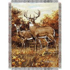 Entertainment Tapestry Throw Blanket - Hautman Brothers Royal Pair
