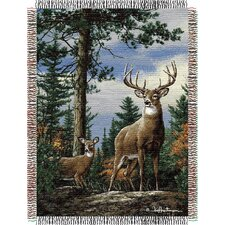 <strong>Northwest Co.</strong> Entertainment Tapestry Throw Blanket - Hautman Brothers King Stag