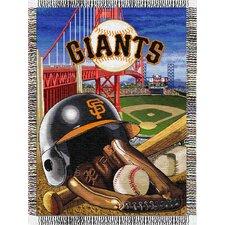 MLB Tapestry Throw