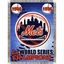 MLB Commemorative Tapestry Throw