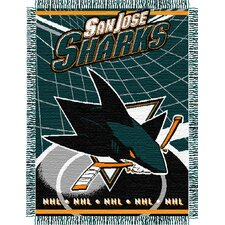 NHL Triple Woven Jacquard Throw