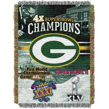 NFL Commemorative Tapestry Throw