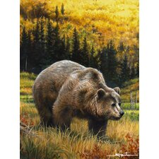 Hautman Bros Grizzly Super Plush Throw