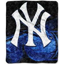 MLB New York Yankees Sherpa Big Stick Throw