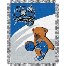 NBA Baby Triple Woven Jacquard Throw