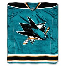 NHL Puck Super Plush Throw