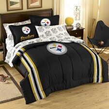 NFL Pittsburgh Steelers Bed in a Bag Set