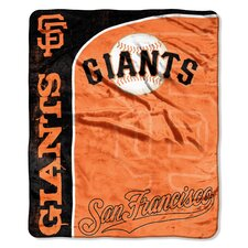 MLB San Francisco Giants Jersey Raschel Throw