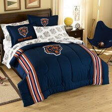 NFL Chicago Bears Embroidered Twin/Full Comforter Set