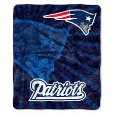 NFL New England Patriots Sherpa Strobe Throw