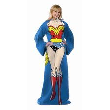 Entertainment DC Being Wonder Woman Comfy Fleece Throw