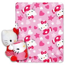 <strong>Northwest Co.</strong> Entertainment Hello Kitty Dot Throw